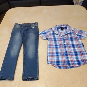 Tommy Hilfiger boy set size 6 bundle separate piec